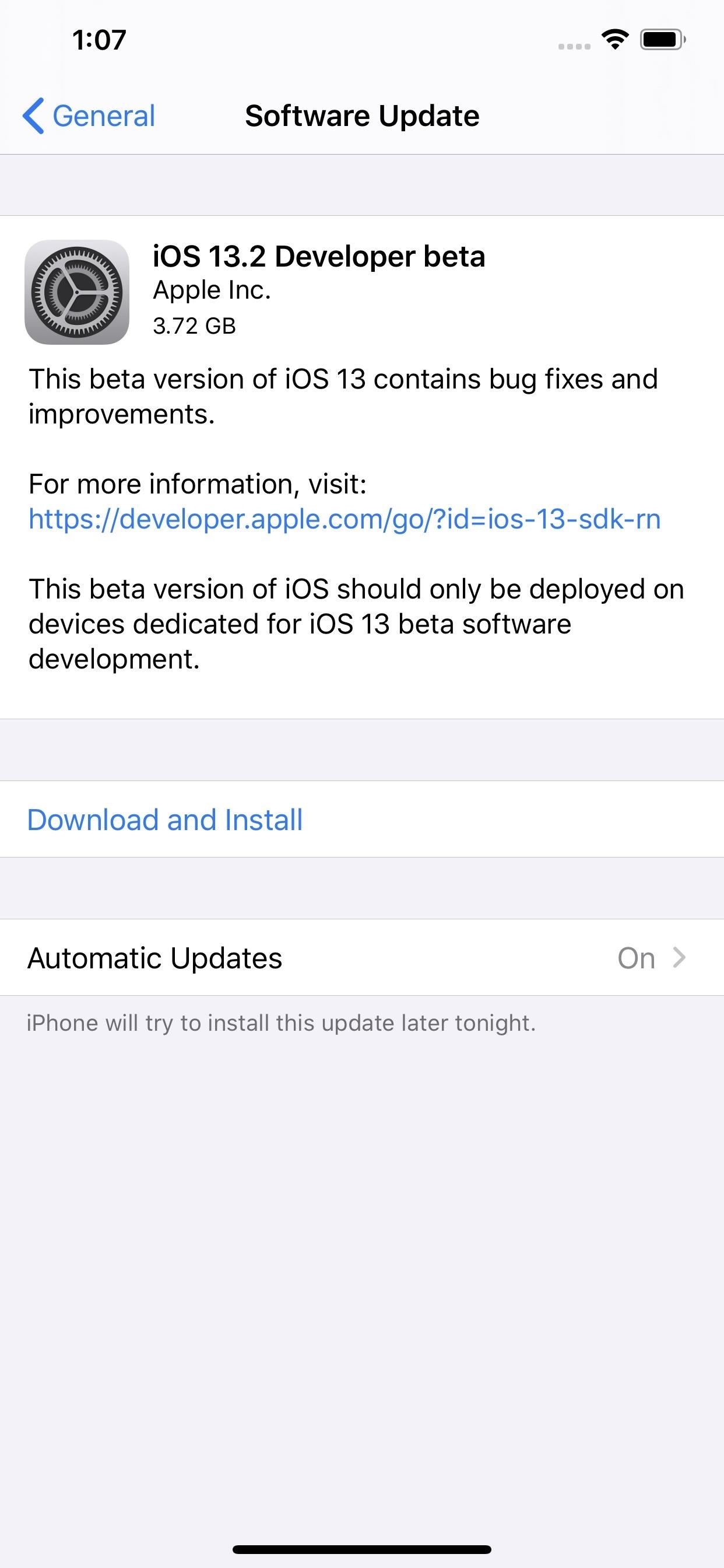 Apple Releases iOS 13.2 Developer Beta, Includes 'Deep Fusion' Camera Update for iPhone 11, 11 Pro & 11 Pro Max