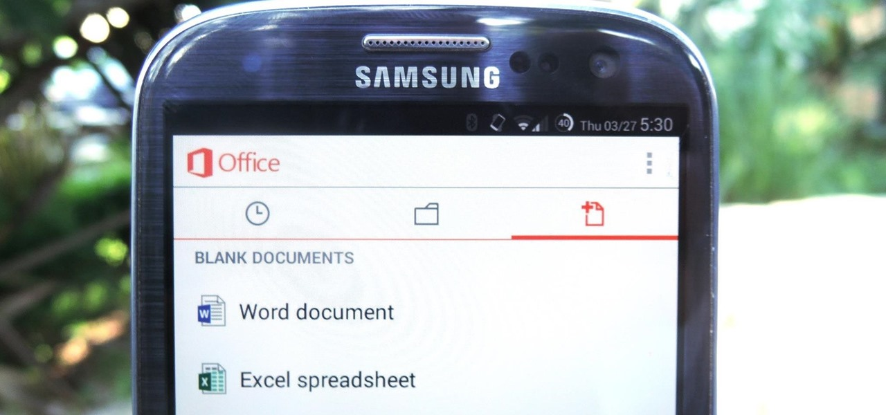 Create & Edit Documents Using Microsoft Office for Android & iOS