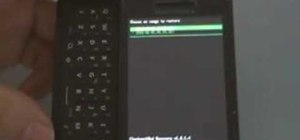 Run Android OS 2.2 (Froyo) on a Motorola Droid smartphone