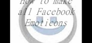 Make all Facebook emoticons