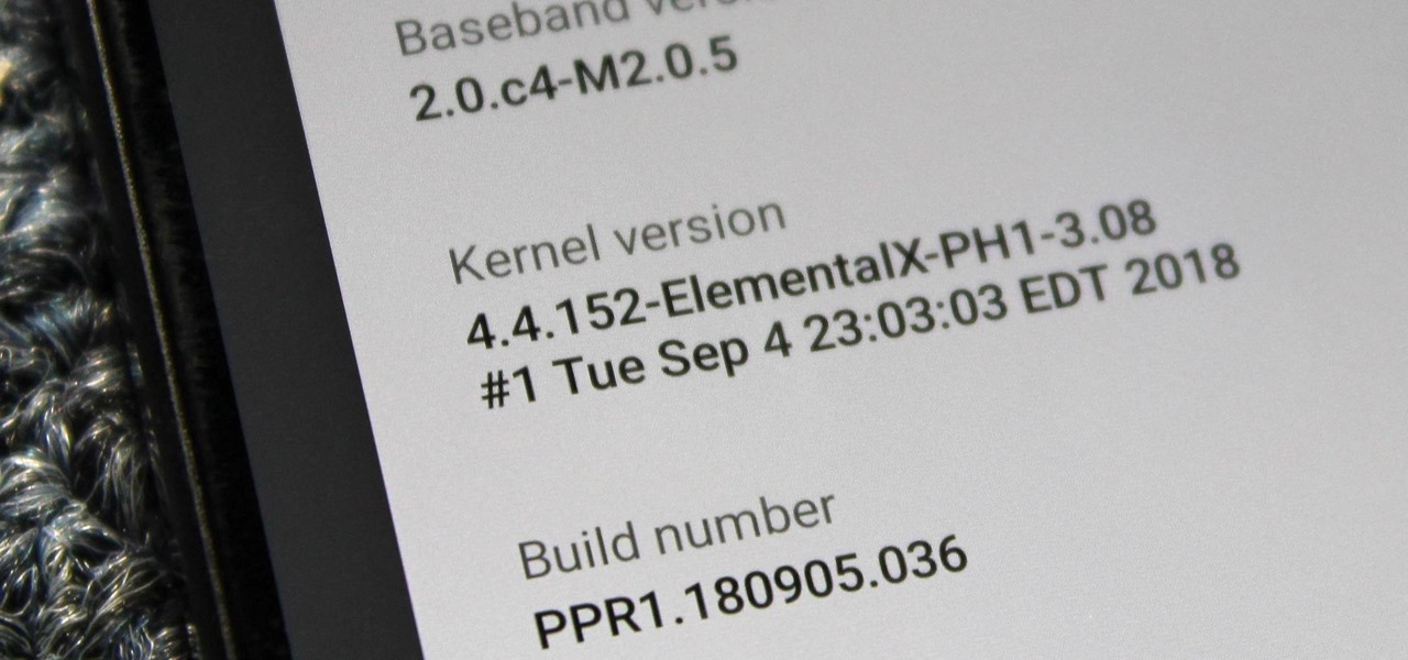 Install a Custom Kernel on the Essential PH-1