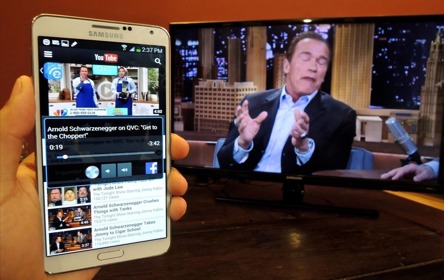 How to Send Just About Anything from Your Phone to Your TV via Chromecast