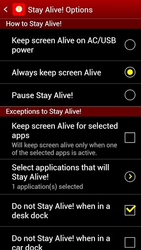 How to Keep Your Samsung Galaxy S3's Screen Awake Whenever You Want (Or Just for Certain Apps)