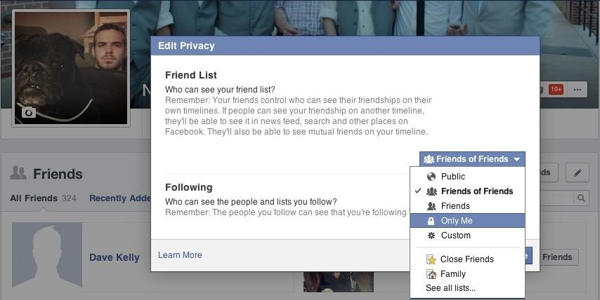 "How to Hack Someone's ""Private"" Friends List on Facebook to See All of Their Friends"