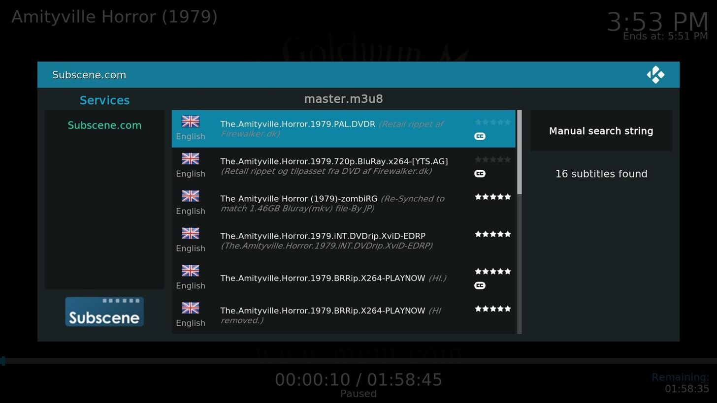 Kodi 101: How to Get Free Subtitles for Your Favorite Movies & TV Shows