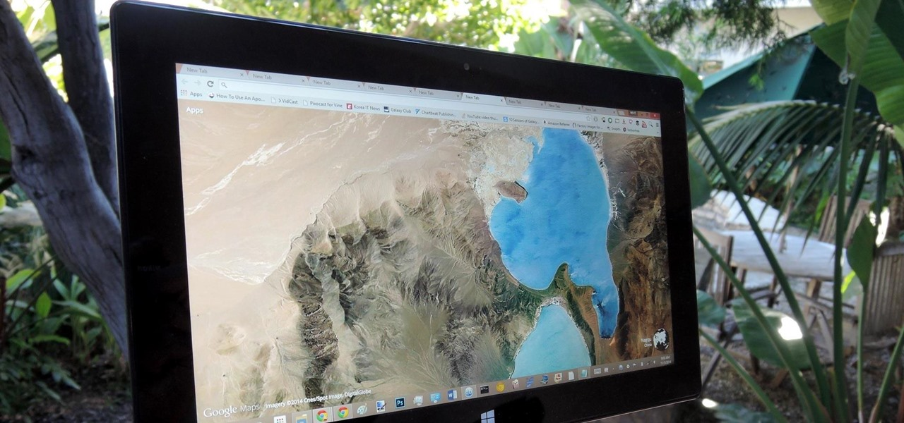 "Turn ""New Tab"" Pages into Google Earth Eye Candy"