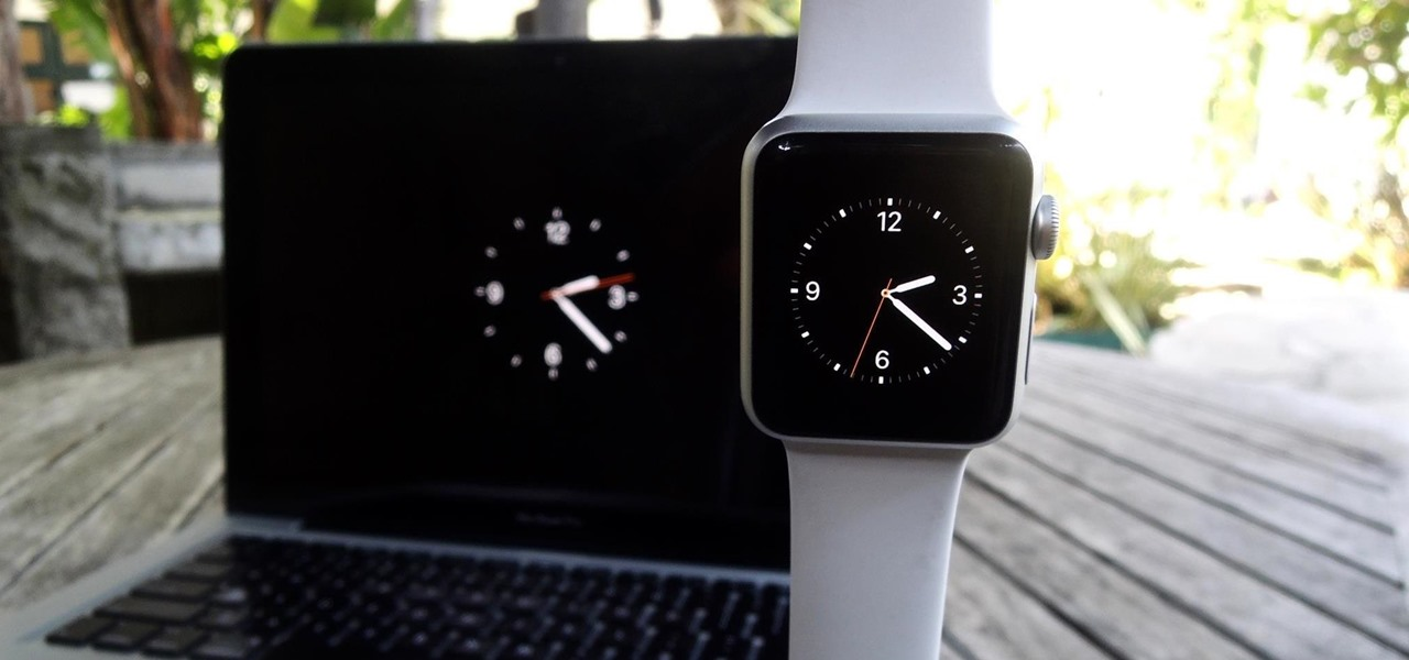 Make Your Mac's Screen Saver the Apple Watch Clock Face