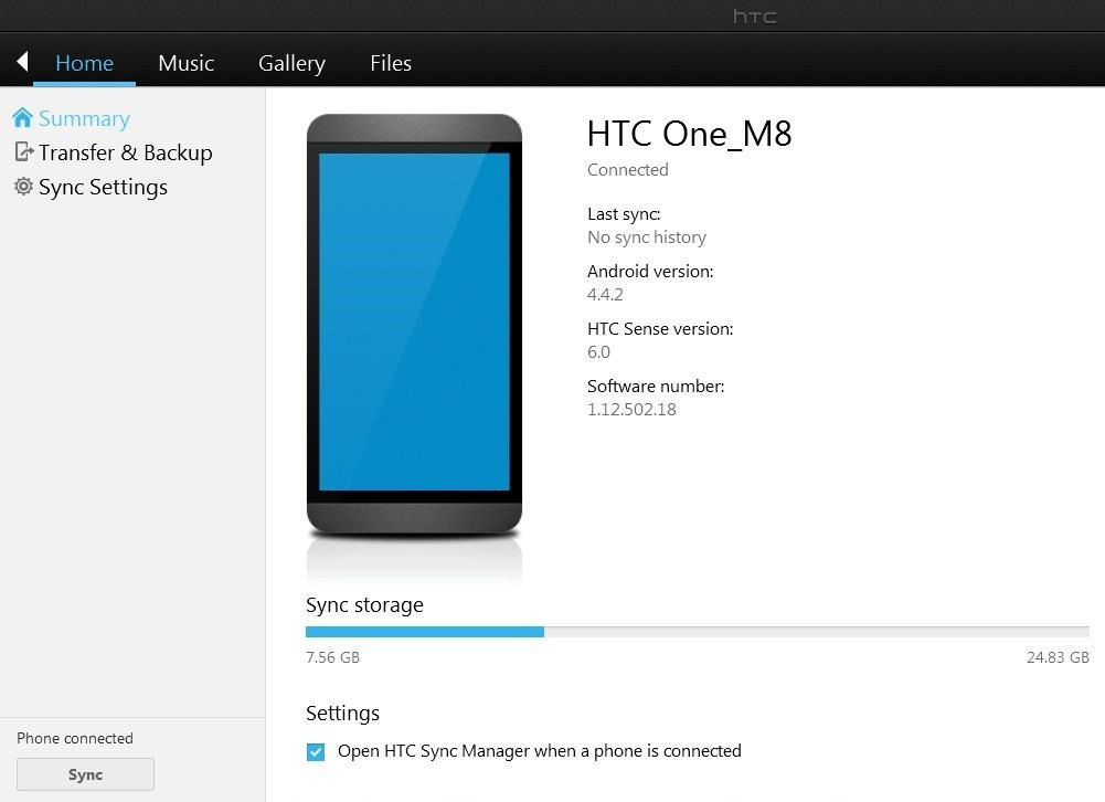 The Easiest Way to Back Up, Restore, & Sync Files Between Your Computer & HTC One