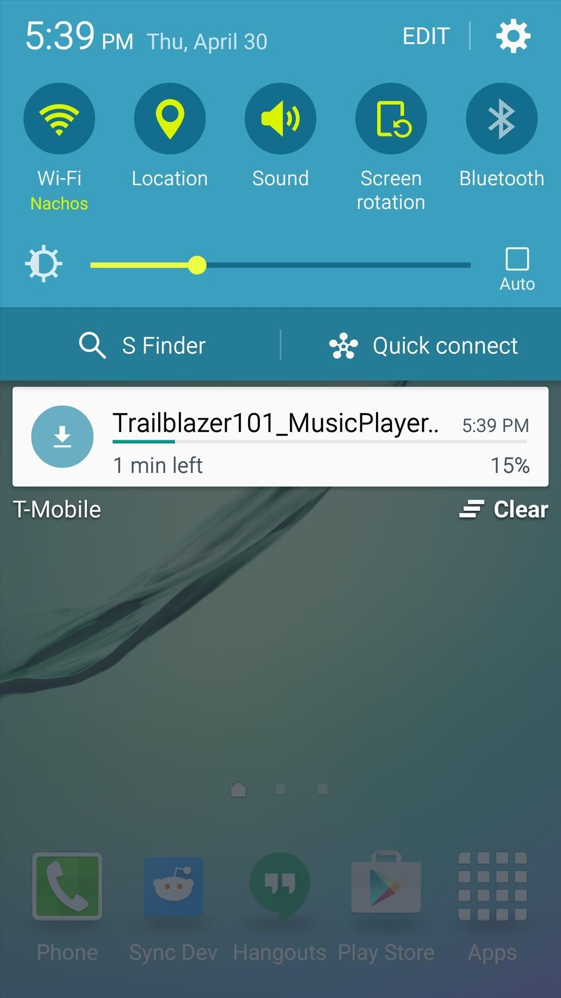 How to Control Music Playback from the Side of Your Galaxy S6 Edge's Screen
