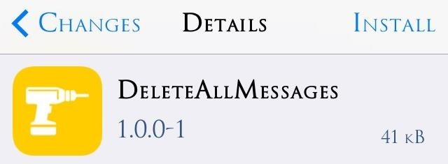 How to Delete All Messages at the Same Time on Your iPhone « iOS