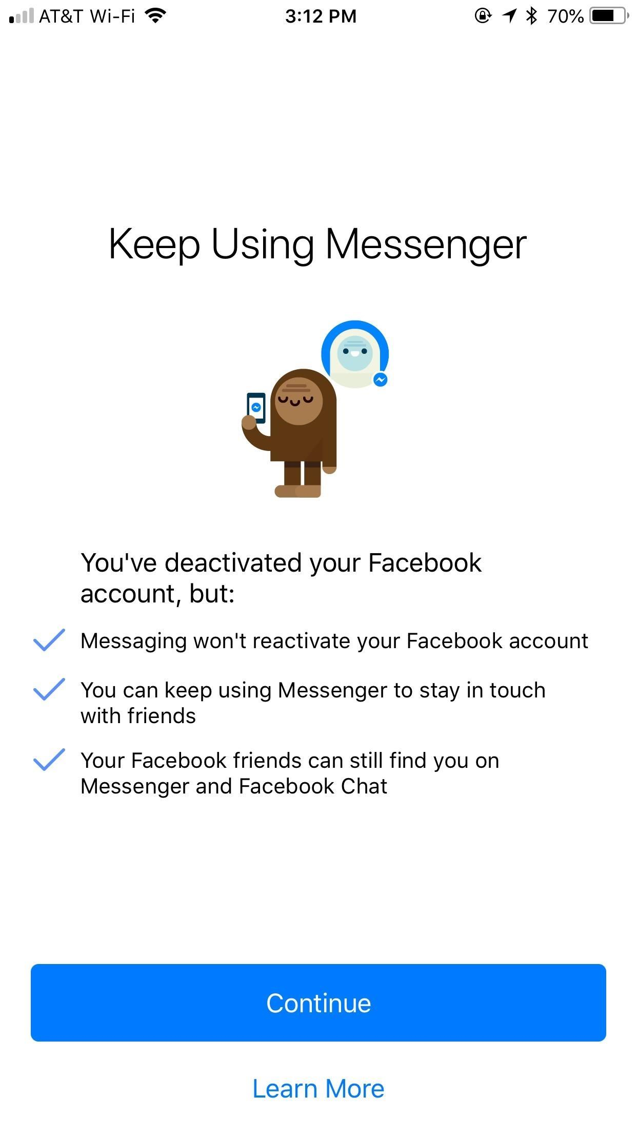 Facebook Messenger 101: How to Keep Your Account When Deactivating Facebook