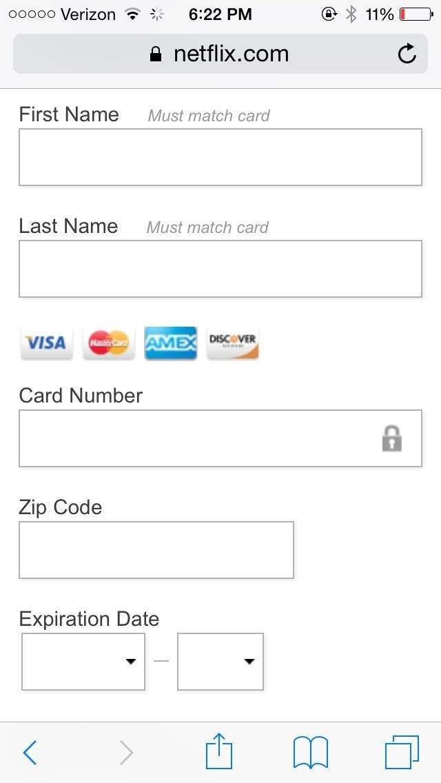 Auto-Fill Credit Card Forms Using Your iPhone's Camera in iOS 8 ...
