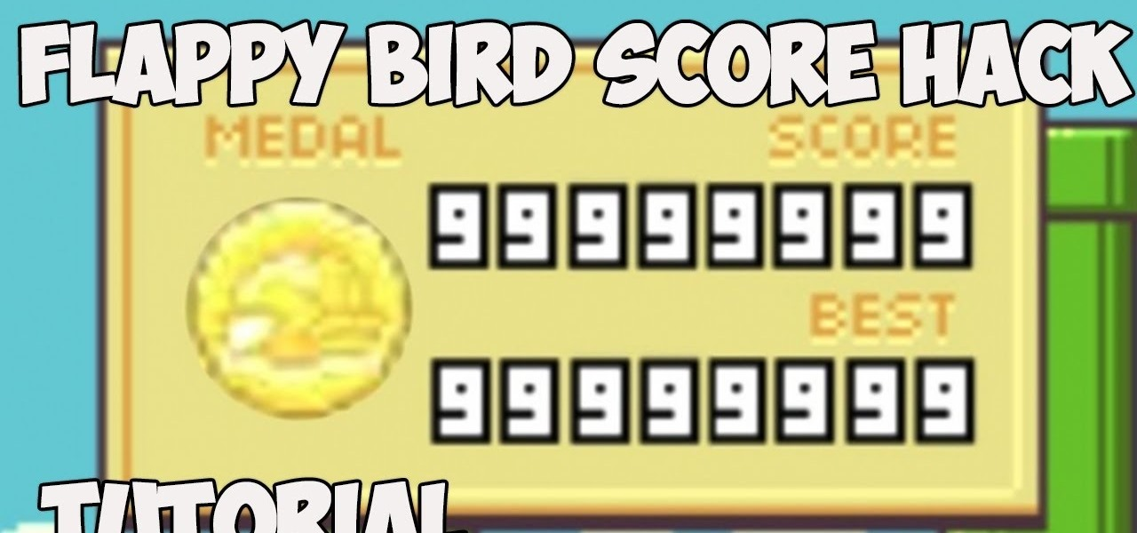 Cheat at Flappy Bird