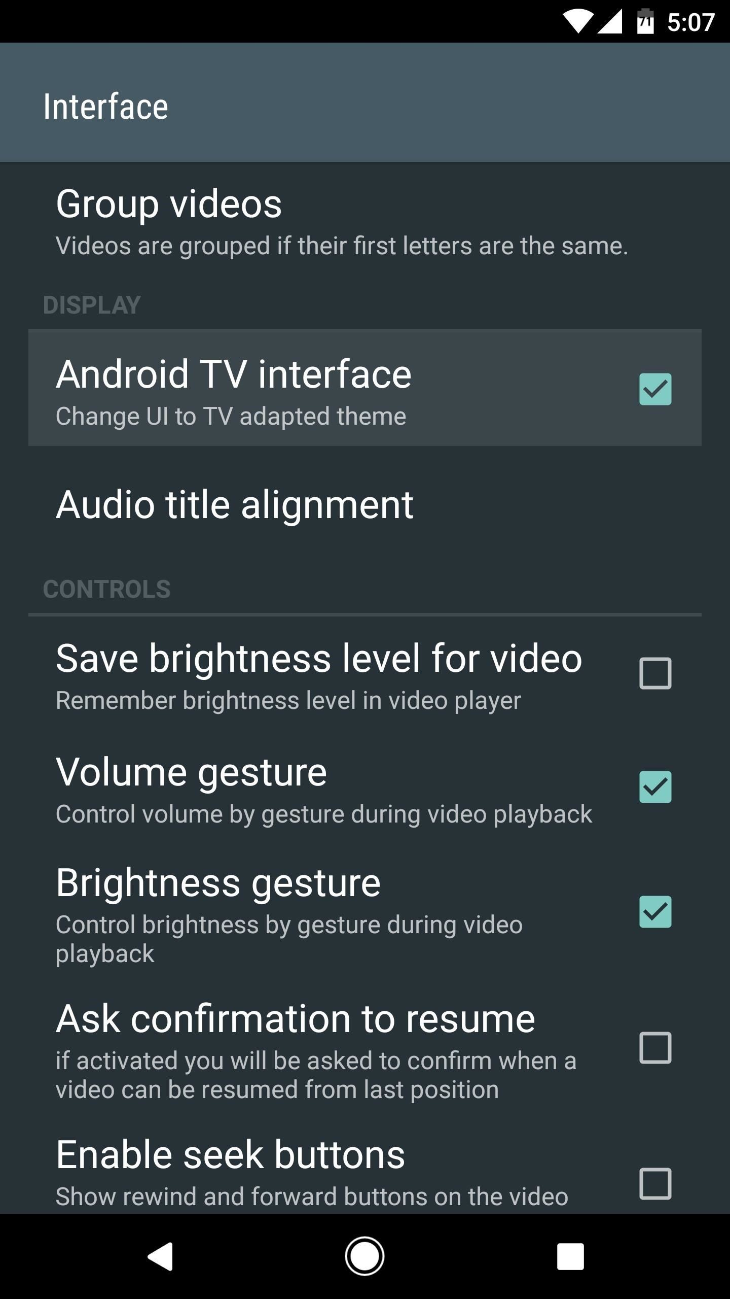 VLC 101: How to Enable Android TV's Interface on the Phone Version of VLC