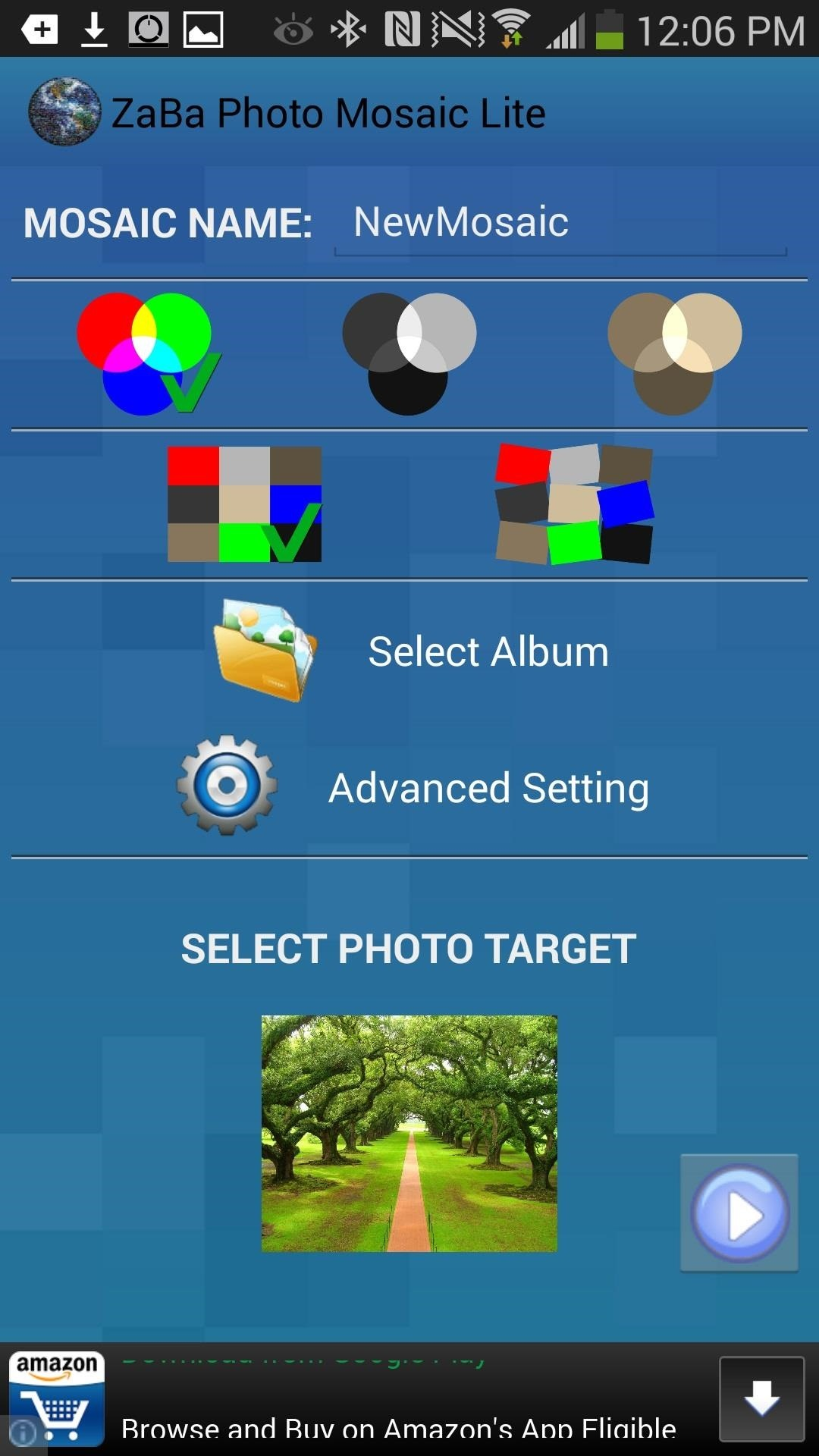 How to Turn All the Pics on Your Galaxy Note 2 or Note 3 into a Mosaic of Your Favorite Photo