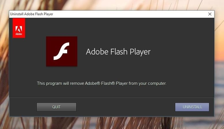 Adobe Flash Player Is Bad for Your Computer (Here's How You Uninstall It)
