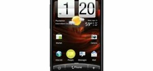 Stay in touch with the HTC Droid Incredible cell phone