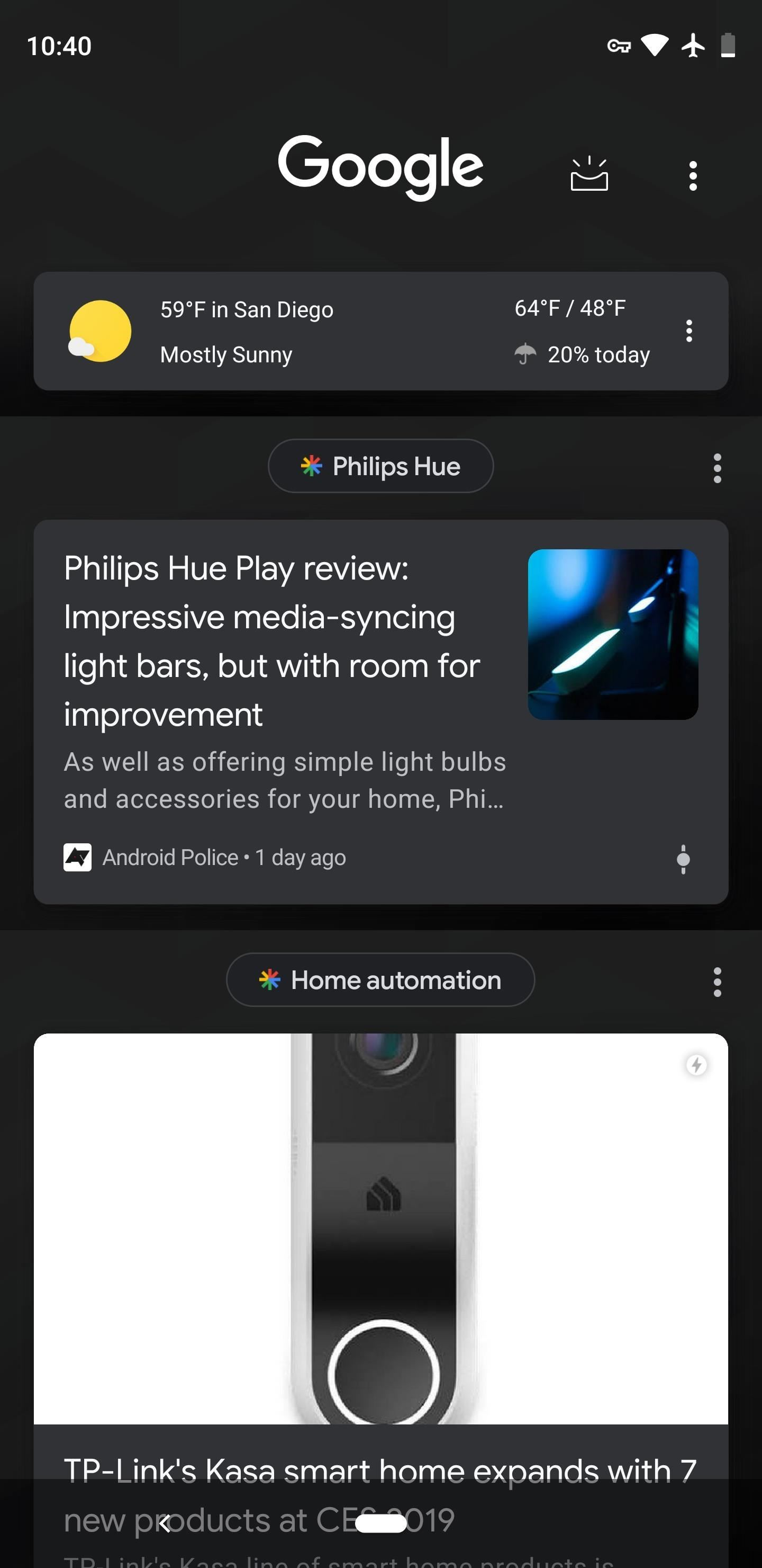 How to Enable Dark Mode in the Google Feed on Android