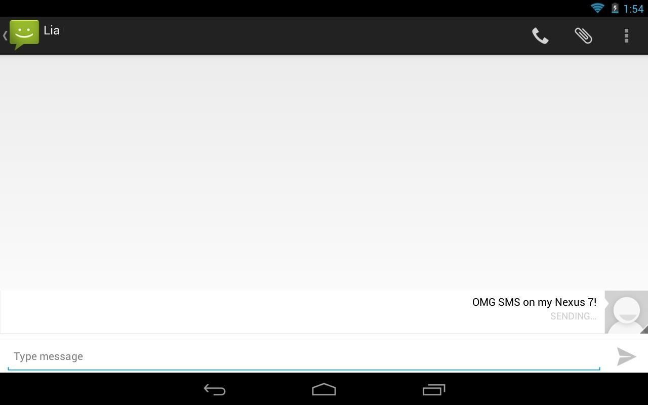 How to Send & Receive Text Messages Right from Your Nexus 7 3G Tablet (Rooted & Non-Rooted)