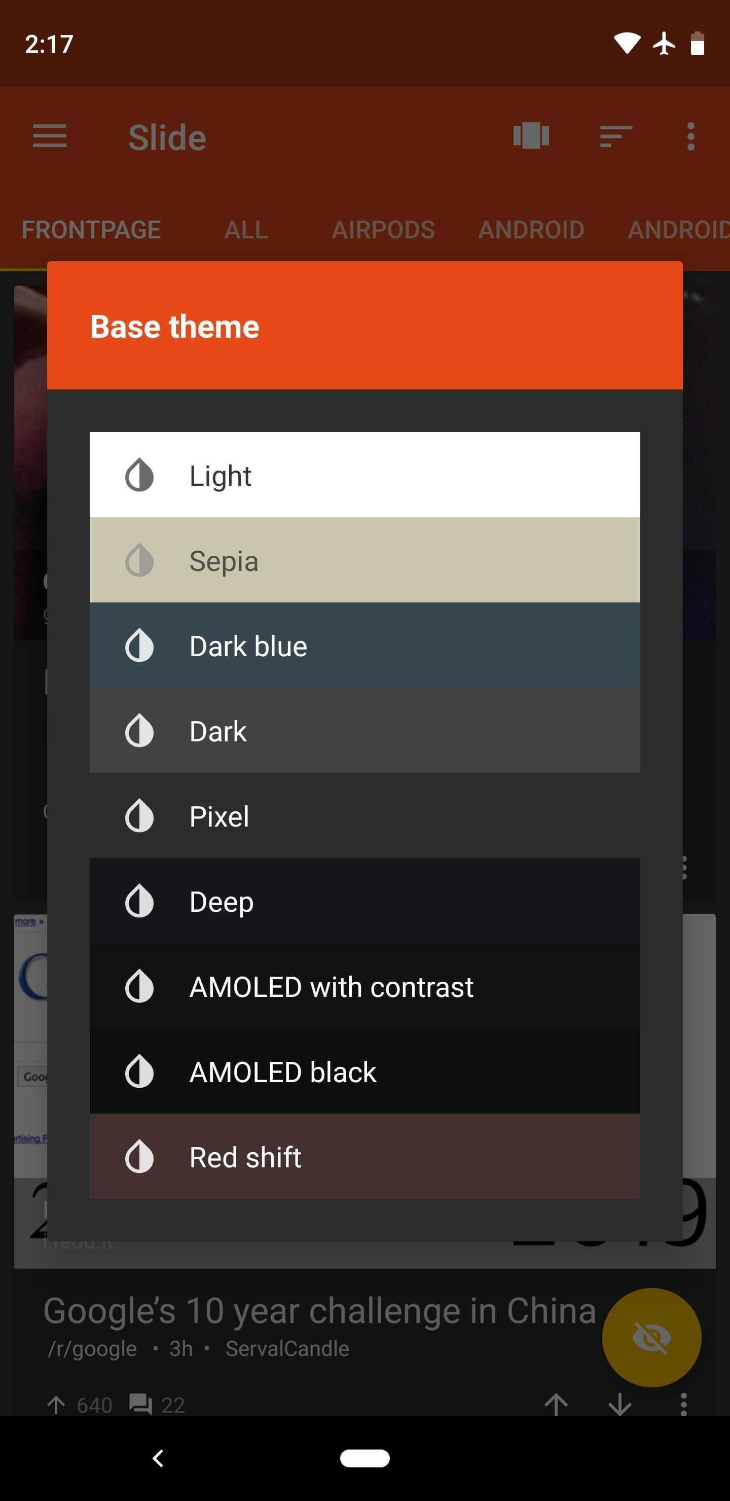 Dark Reddit Theme