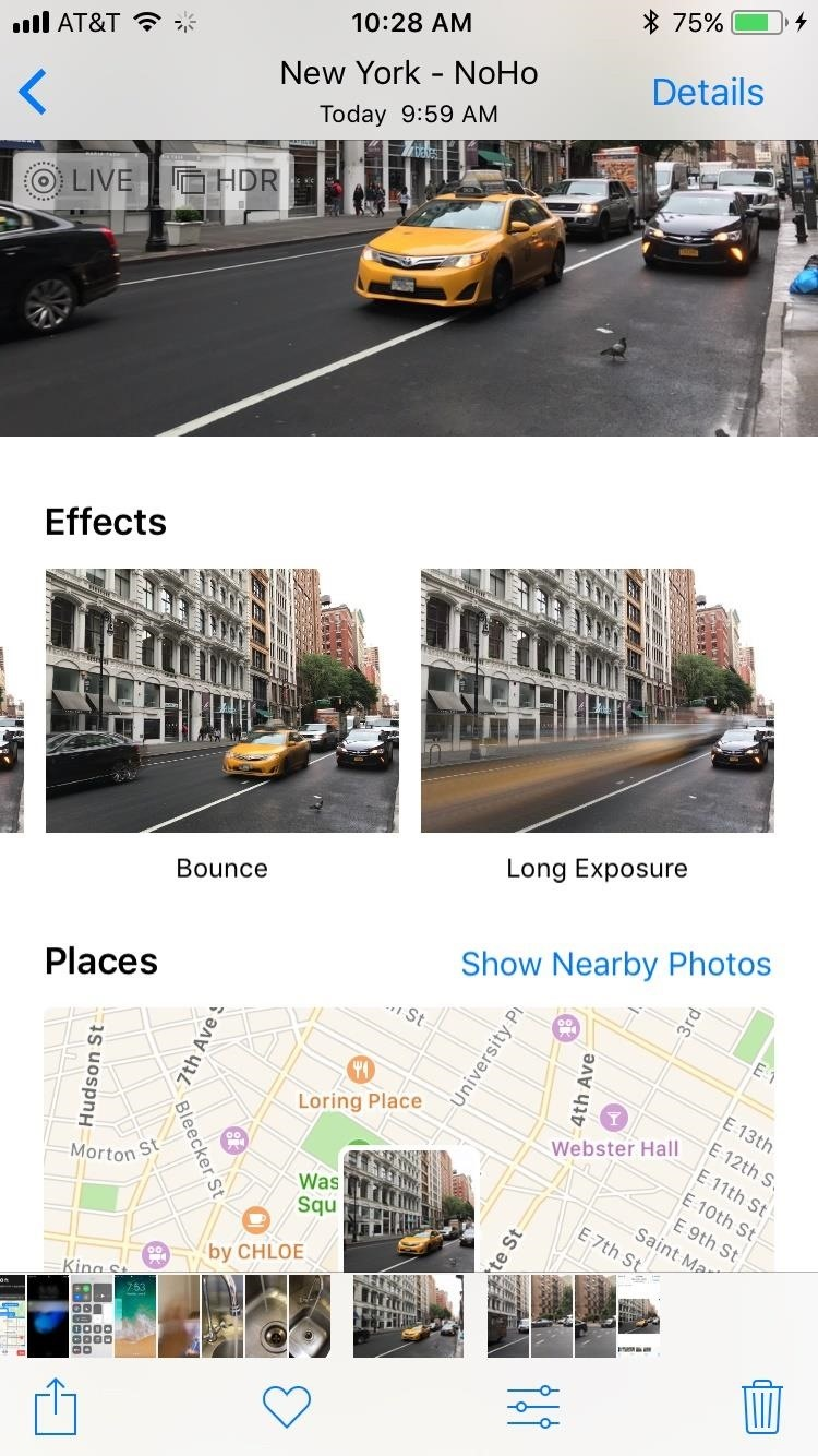 How to Take Long Exposure Photos on Your iPhone in iOS 11