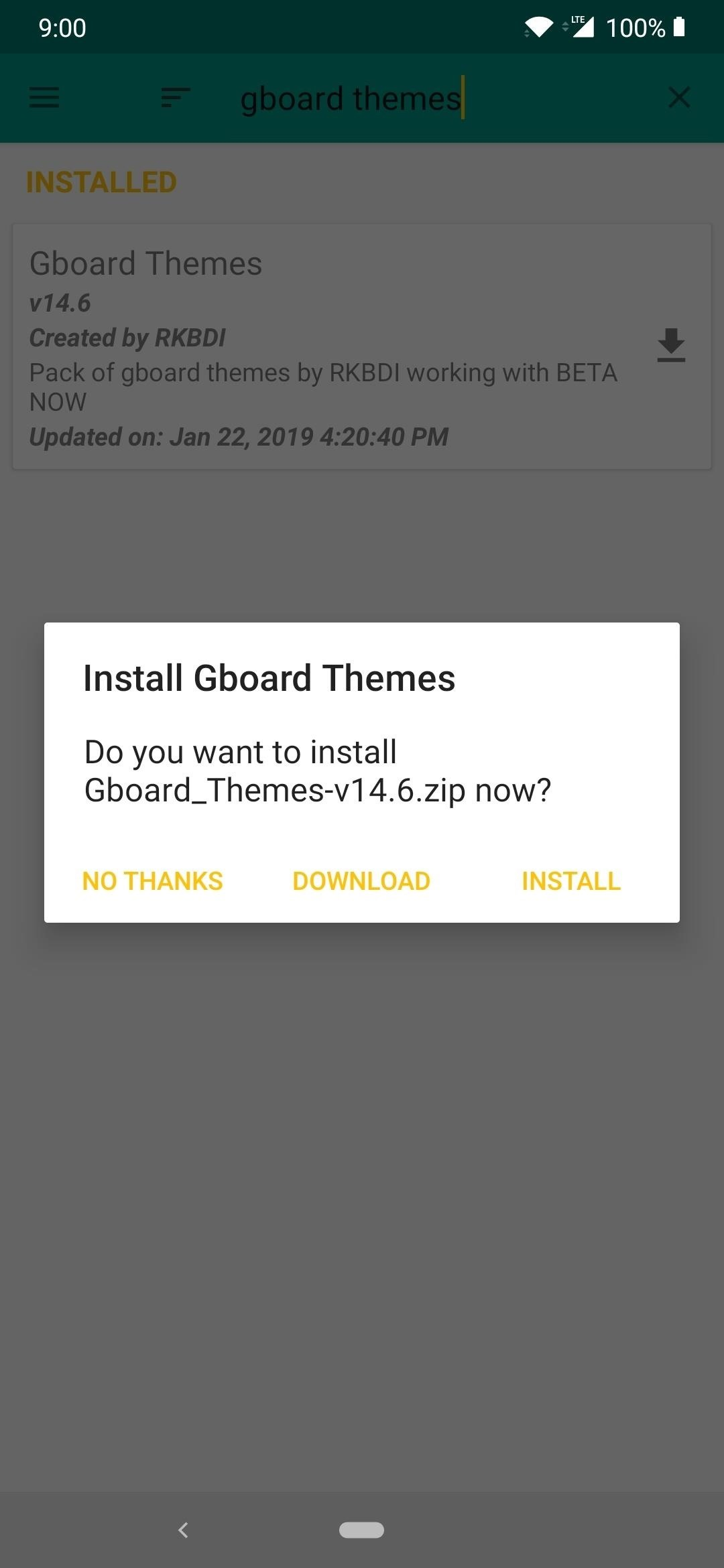 Get Over 100 New & Unique Themes for Gboard on Android