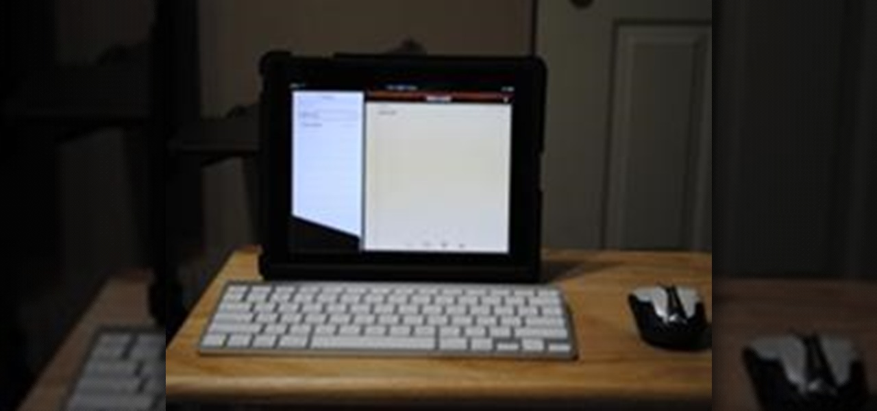 Hook up external keyboard to ipad