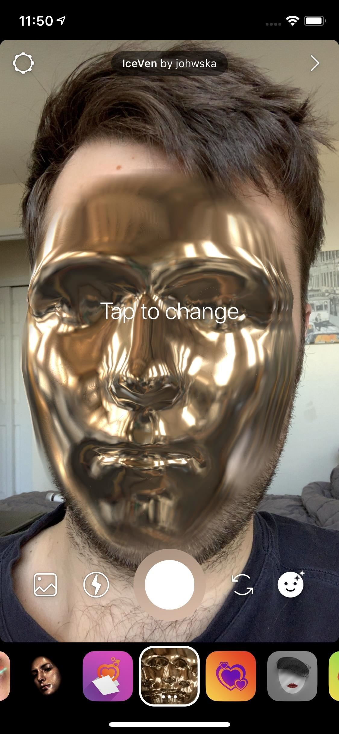 Get Unique Face Filters by Following AR Creators on
