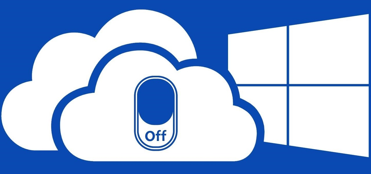 Don't Use OneDrive? This Is How You Disable It in Windows 10