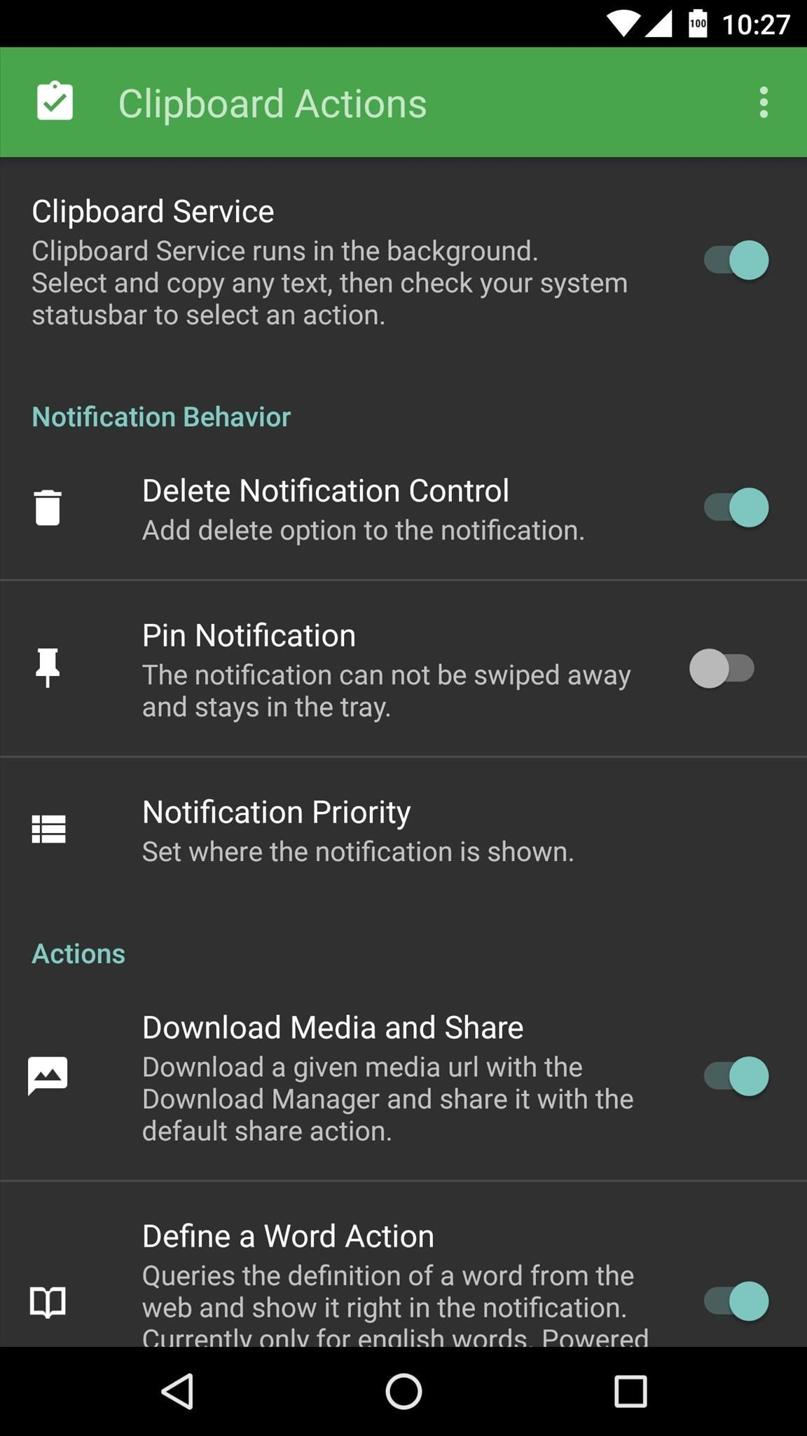 Make Copy/Paste Insanely Better on Android with Clipboard Actions