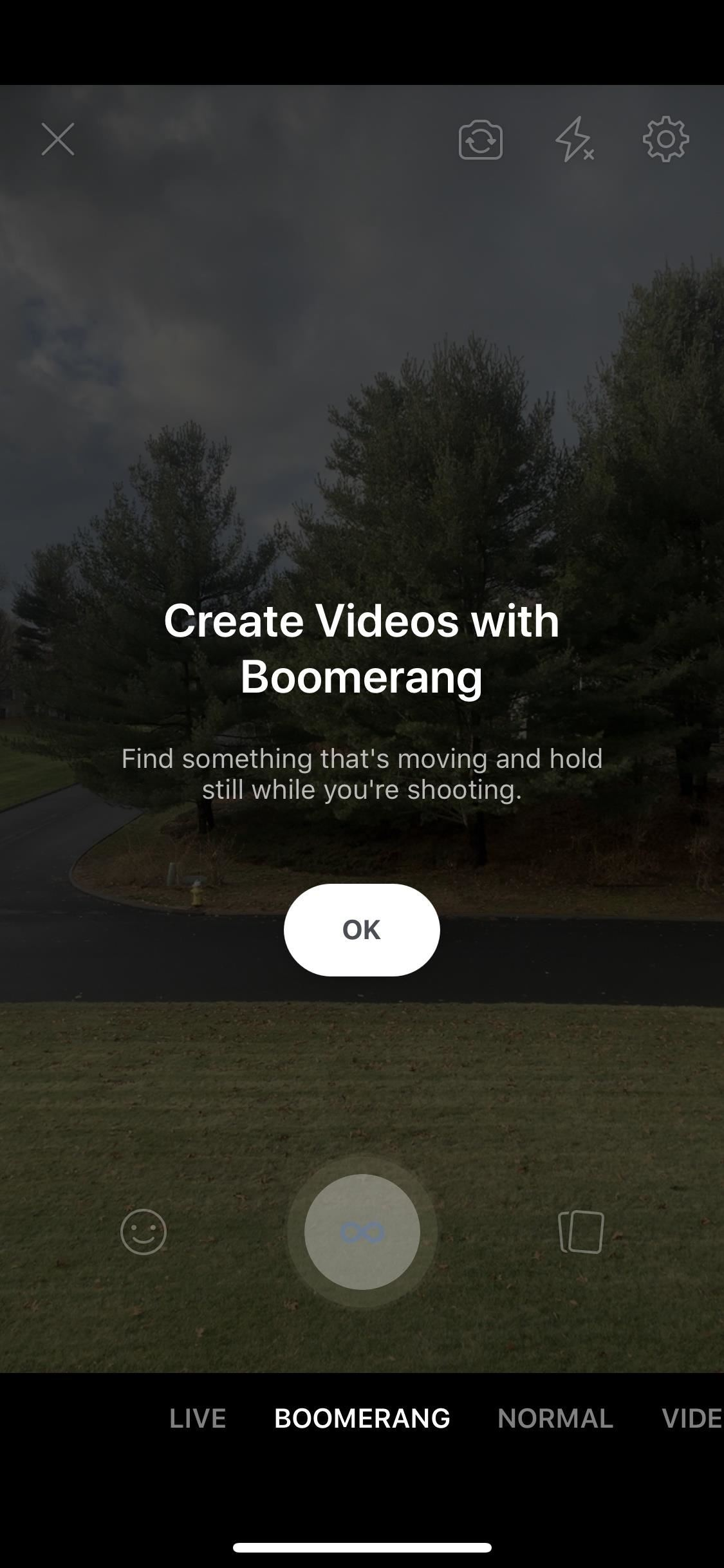 Make Fun Looping Facebook Messenger Videos with Boomerang
