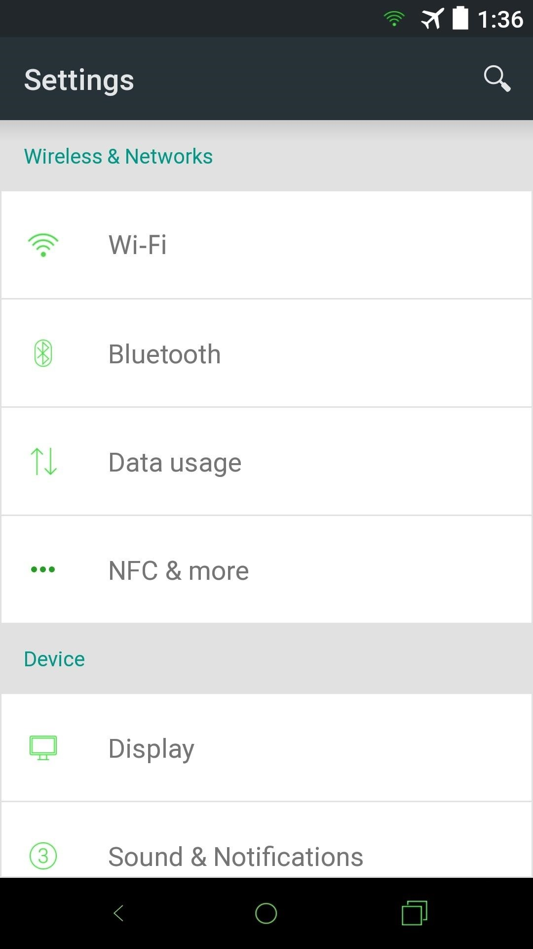 How to Theme Android L on Your Nexus 5 with New Colors & Icons