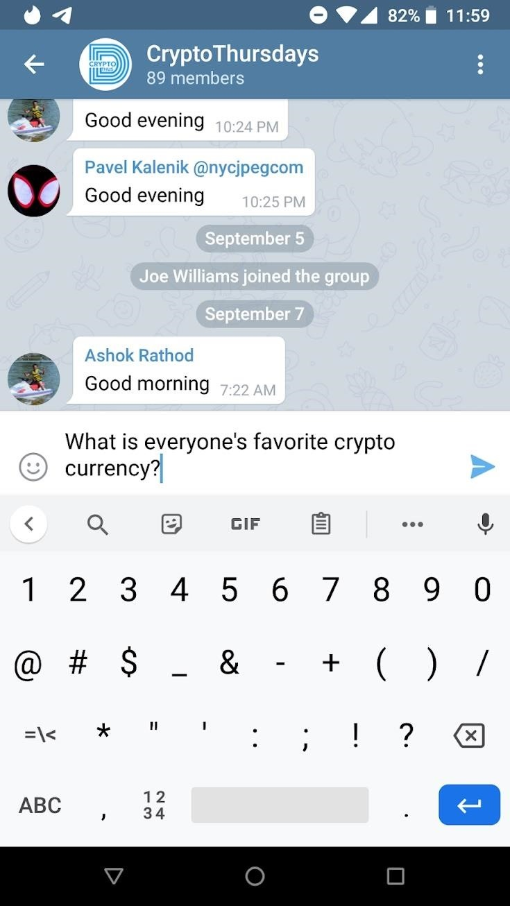 How to Schedule Texts to Send Later in Telegram