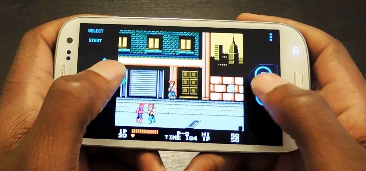 Play Classic Nintendo (NES) Games on Your Samsung Galaxy S3