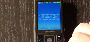 Get free video ringtones for your cell phone