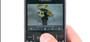 Take a picture with a BlackBerry Curve 8520 phone