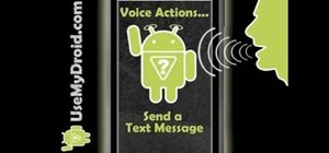 Program your Android phone to respond to voice commands