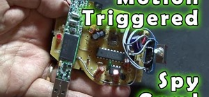 Make a motion triggered spy camera