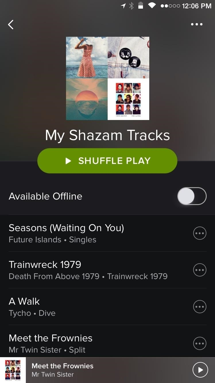 Automatically Add Your Shazam Songs to a Rdio or Spotify Playlist