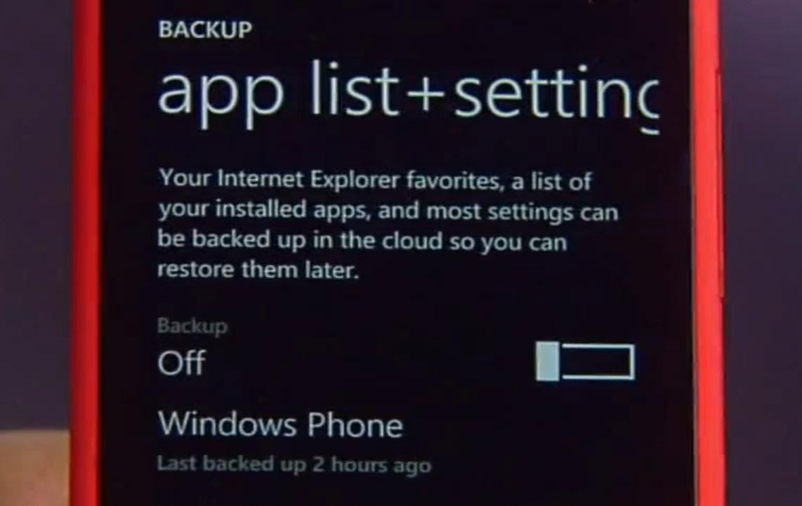 Turn Off Automatic Backups