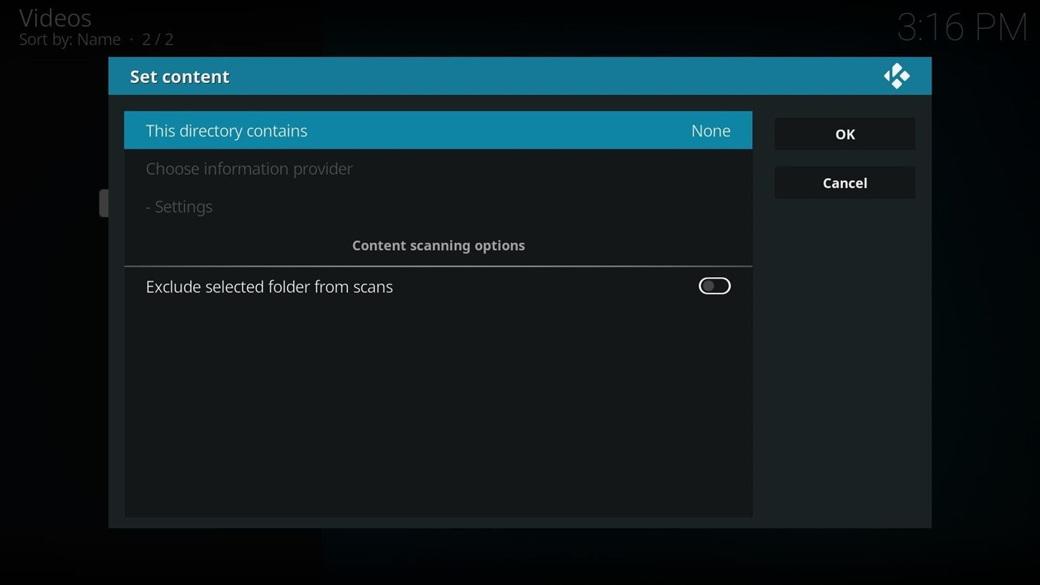 how to read kodi library