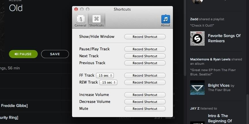 Control iTunes, Rdio, & Spotify from Your Mac's Menu Bar