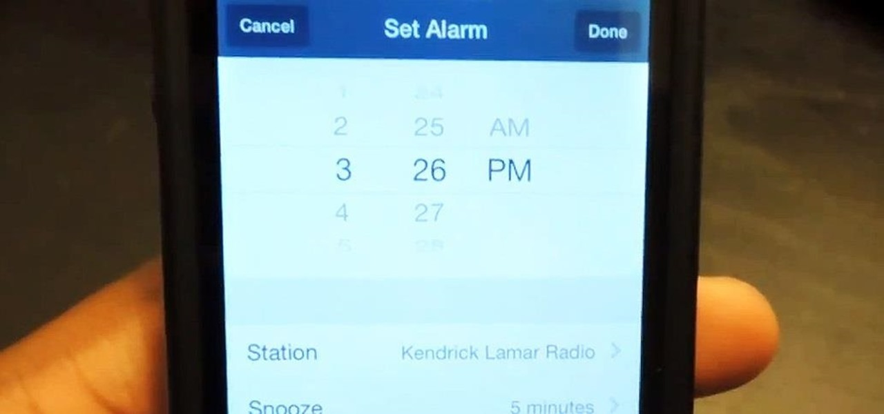 Set Up a Pandora Alarm Clock on Your iPhone for a Less Annoying Start to Your Day