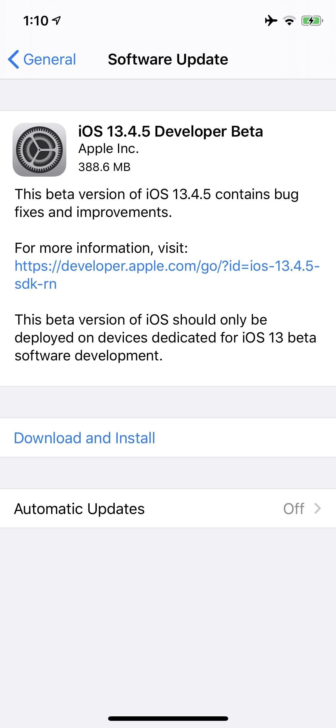 Apple Just Released iOS 13.4.5 Developer Beta 1 for iPhone, Includes New Apple Music Feature