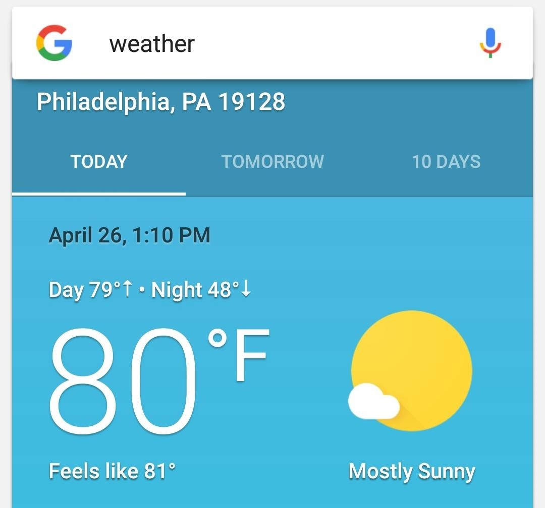 How To Get Googles Hidden Weather App On Your Home Screen Android