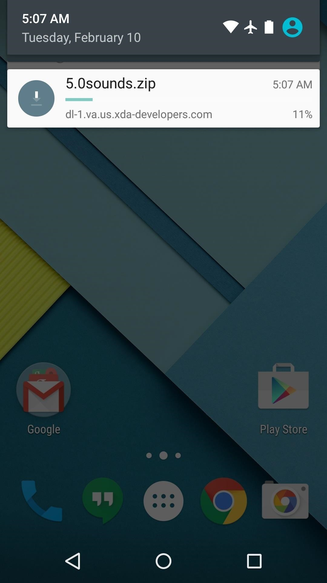 How to Get Stock Lollipop Sounds on Custom ROMs for the Nexus 6