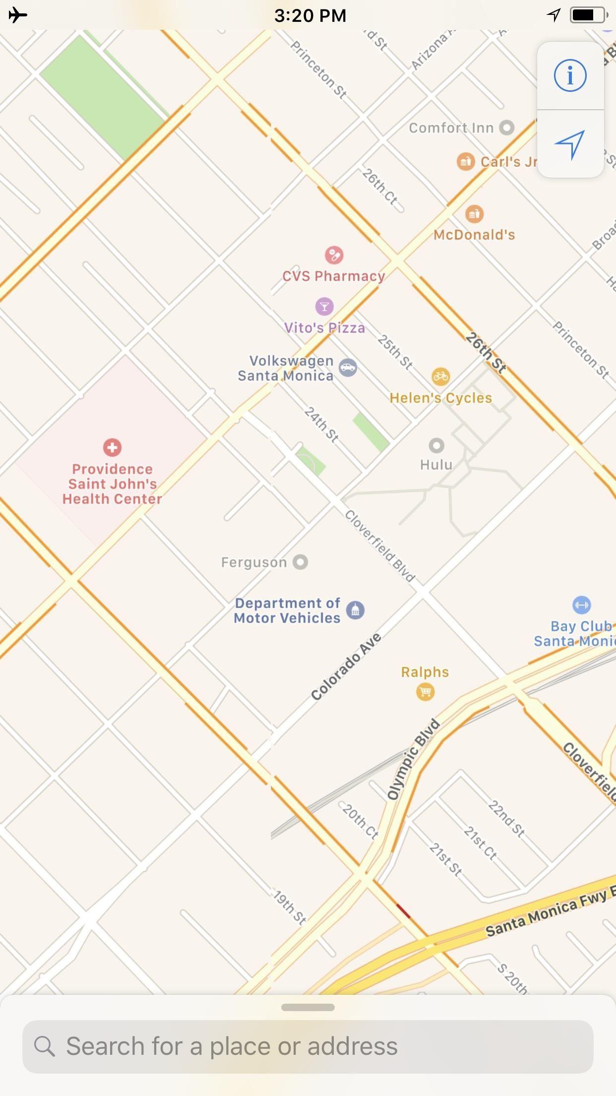 Apple Maps Offline