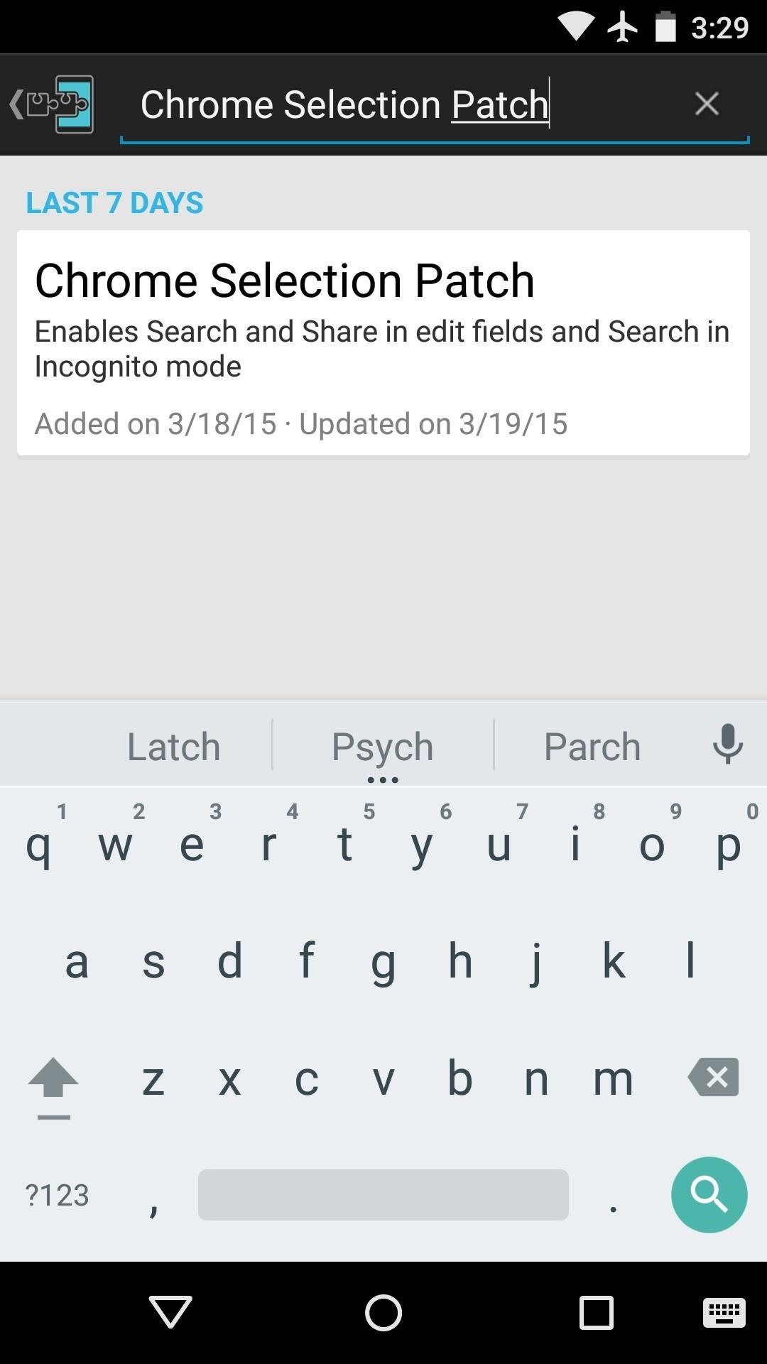 How to Enhance Chrome's Incognito Mode with Search Functions on Android