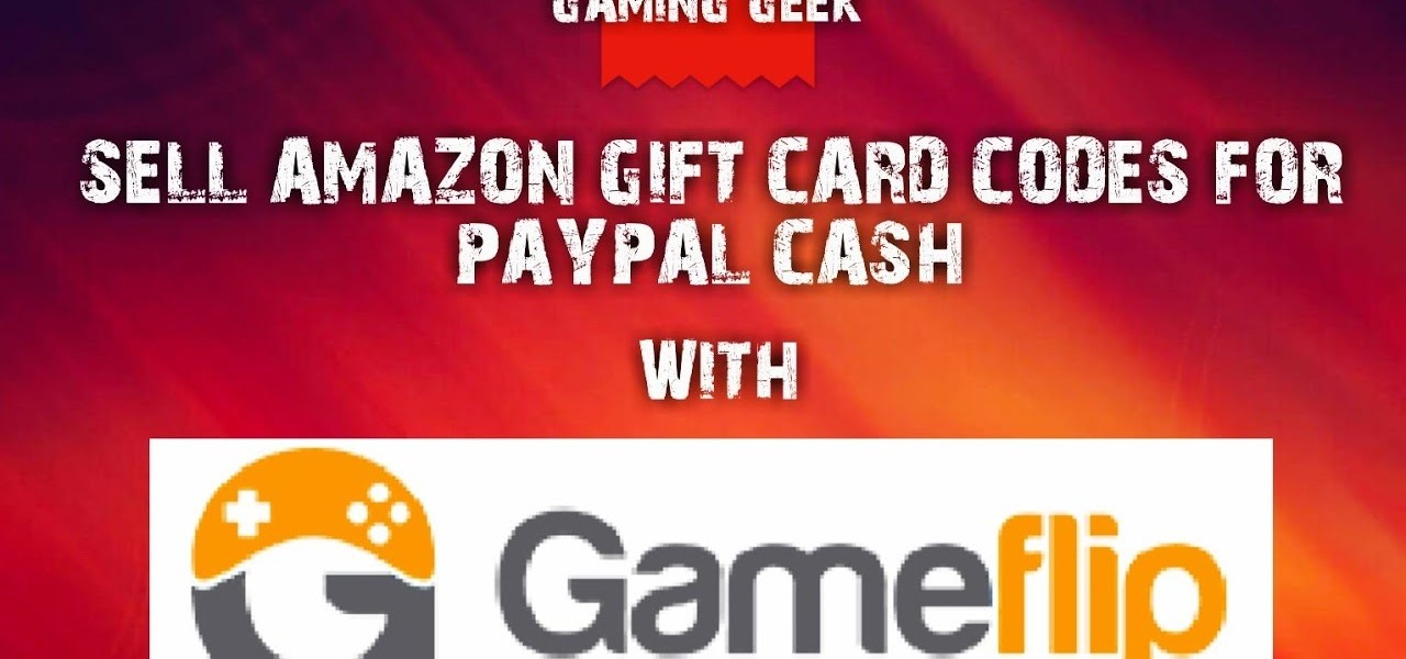 How to Sell Amazon Gift Cards for Paypal Cash « Android :: Gadget ...