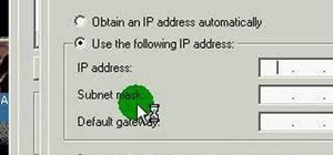 Easily change your IP address